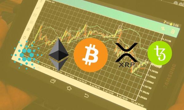 Bitcoin, Ethereum, Ripple, Tezos, dan Cardano