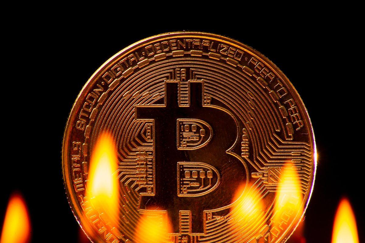 Bitcoin sedang terbakar