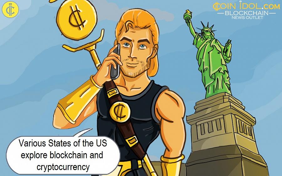 5 Negara Bagian AS yang Menggali Potensi Cryptocurrency dan Blockchain