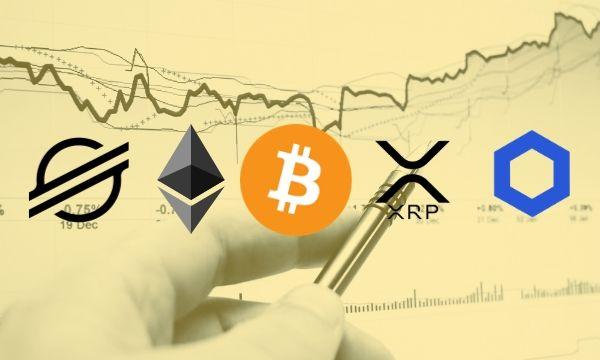 Bitcoin, Ethereum, Ripple, Stellar, dan Chainlink