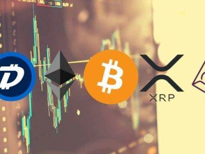 Bitcoin, Ethereum, Ripple, DigiByte, dan Augur