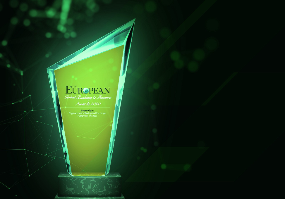 StormGain Dinobatkan 'Perdagangan Cryptocurrency dan Platform Pertukaran tahun ini» NullTX