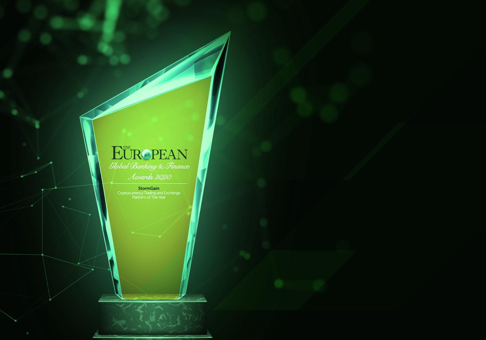 StormGain Memenangkan Penghargaan Platform Perdagangan dan Pertukaran Cryptocurrency Eropa Tahun Ini »The Merkle News