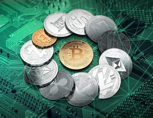Bitcoin, Ethereum, Ripple, Monero, dan Tron