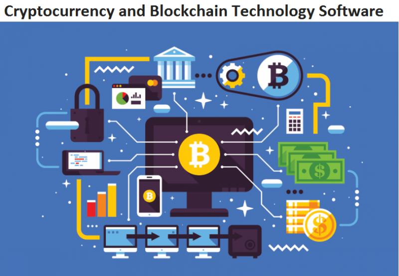 Cryptocurrency and Blockchain Technology Software Market