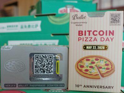 Perusahaan Balet Cold Wallet Memperkenalkan Produk Baru untuk Memperingati Hari Pizza Bitcoin