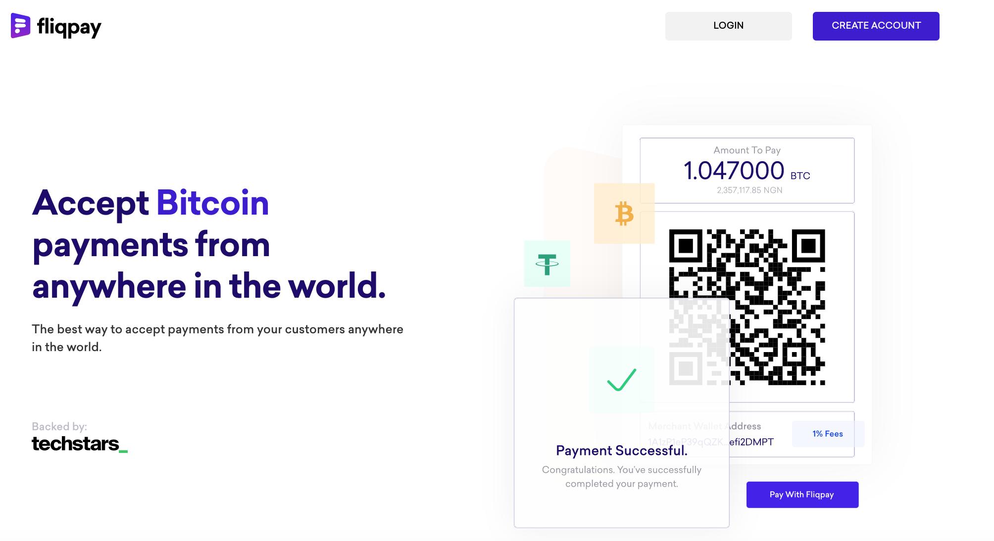 Startup yang didukung Techstars, Fliqpay meluncurkan gateway pembayaran cryptocurrency