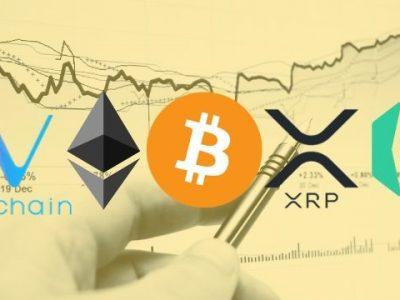 Jaringan Bitcoin, Ethereum, Ripple, VeChain & Kyber