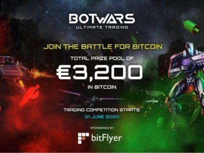 bitFlyer Eropa dan Quazard Bermitra untuk Membawa Kompetisi Perdagangan Pertama Kali ke Botwars Ultimate Trading   Bisnis
