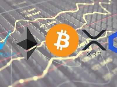 Bitcoin, Ethereum, Ripple, Chainlink & VeChain