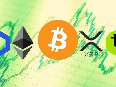 Bitcoin, Ethereum, Ripple, Chainlink, dan Tezos