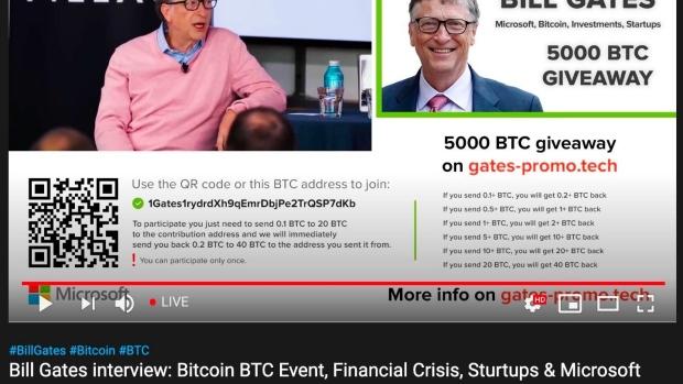 Penipuan cryptocurrency Twitter menggemakan skema sebelumnya di YouTube