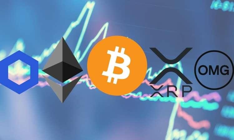 Analisis & Tinjauan Harga Crypto 21 Agustus: Bitcoin, Ethereum, Ripple, Chainlink, dan OMG