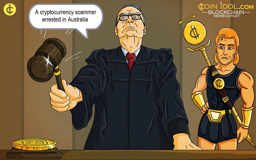 Australia Meneruskan Kalimat Pertama Terkait Pencurian Cryptocurrency