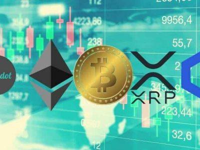 Bitcoin, Ethereum, Ripple, Chainlink, dan Polkadot