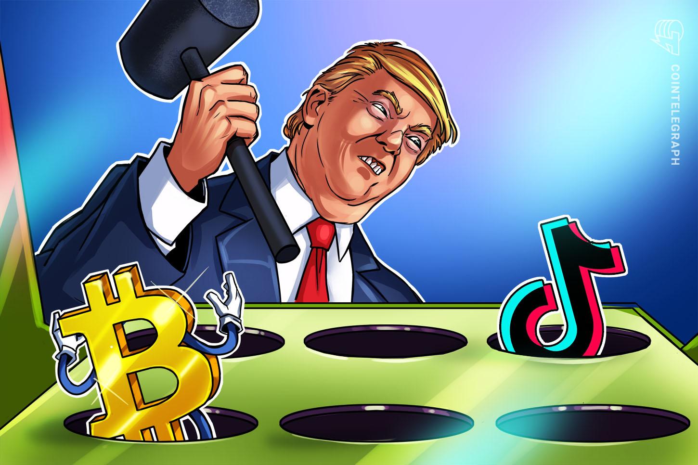 Mengapa Trump Melarang TikTok Mungkin Berkat Harga Bitcoin, Adopsi