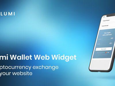 Widget Web Lumi Wallet: Pertukaran Cryptocurrency di Situs Web Anda
