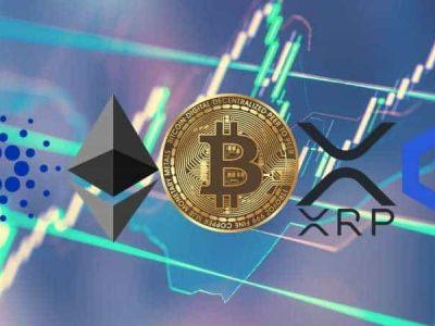 Bitcoin, Ethereum, Ripple, Cardano, dan Chainlink