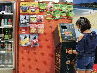 ATM yang penasaran mengambil uang untuk cryptocurrency
