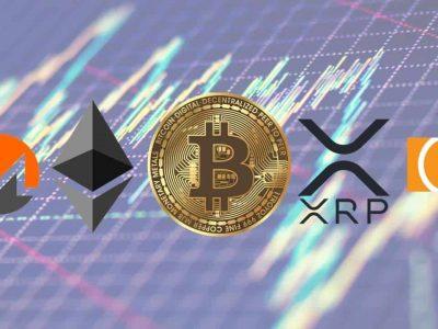 Bitcoin, Ethereum, Ripple, Monero, & Bitcoin Cash