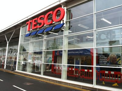 The Tesco store in Lockerbie